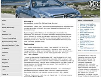 Thumbshot of Mercedesclub.org.uk
