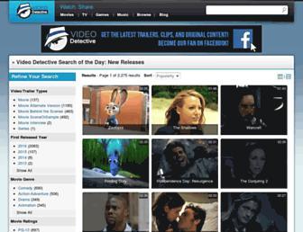 videodetective.com screenshot