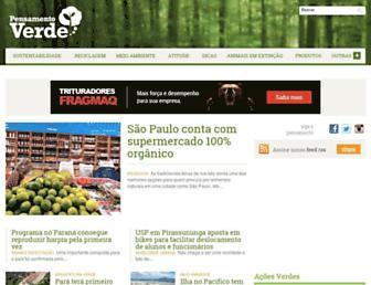 pensamentoverde.com.br screenshot
