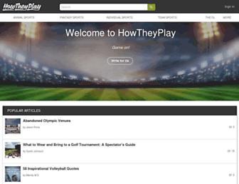 howtheyplay.com screenshot
