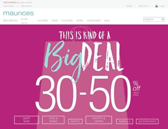 Thumbshot of Maurices.com