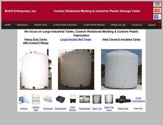 plasticstoragetanks.com screenshot
