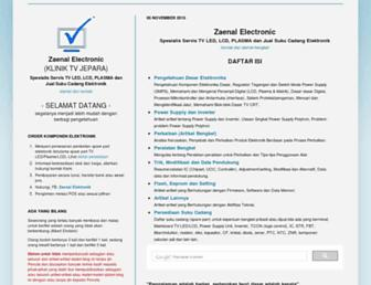 zaenalelectronic.blogspot.com screenshot