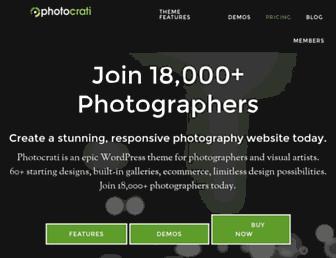 Fullscreen thumbnail of photocrati.com