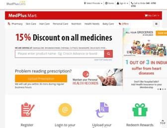 medplusmart.com screenshot