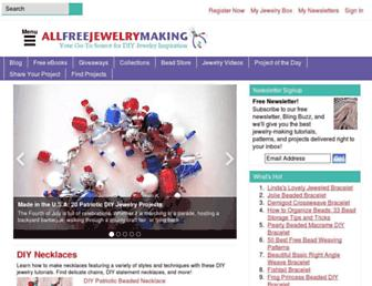 Thumbshot of Allfreejewelrymaking.com