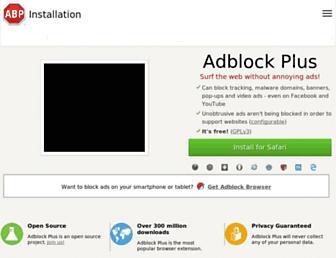 Thumbshot of Adblockplus.org