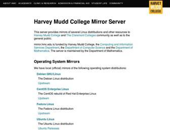 mirror.hmc.edu screenshot