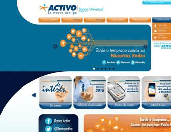 bancoactivo.com screenshot