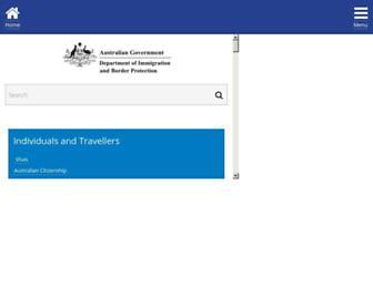 Thumbshot of Immi.gov.au