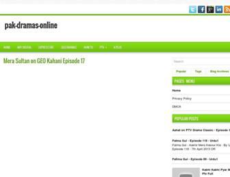 pak-dramas-online.blogspot.com screenshot