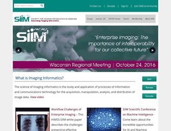 siim.org screenshot