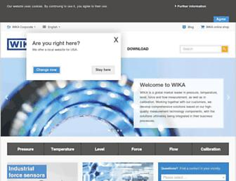 en.wika.com screenshot