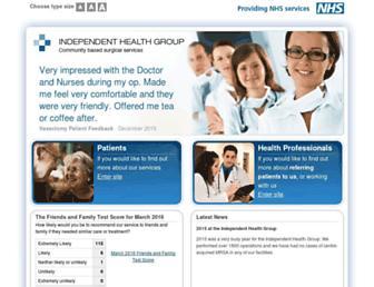 Thumbshot of Ihg.org.uk