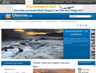 Thumbshot of Chiourim.com