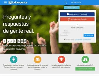 todoexpertos.com screenshot