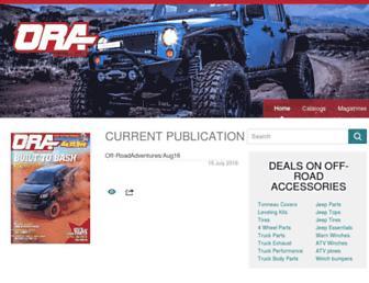 offroadadventures.com screenshot