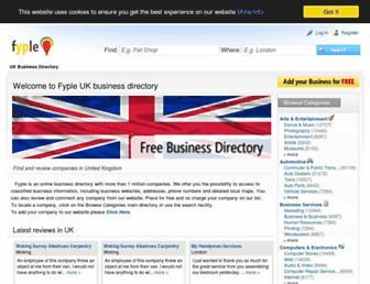 fyple.co.uk screenshot
