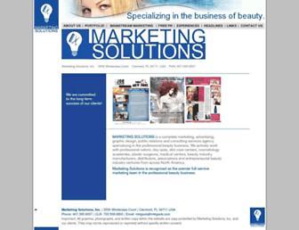 mktgsols.com screenshot