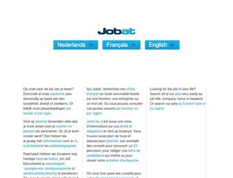jobat.be screenshot