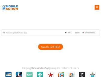 mobileaction.co screenshot