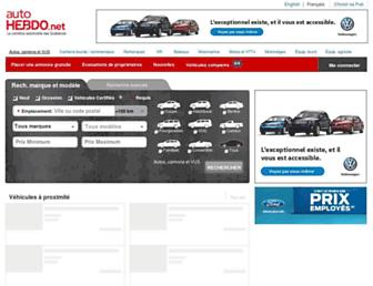 autohebdo.net screenshot