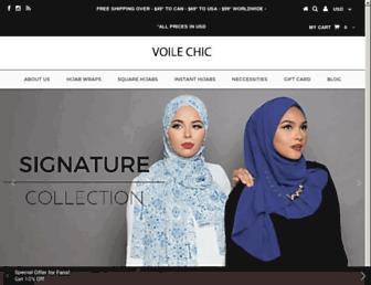 voilechic.ca screenshot