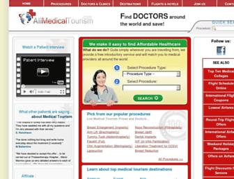 Thumbshot of Allmedicaltourism.com