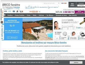 brico-fenetre.com screenshot