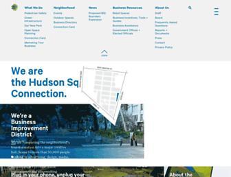 hudsonsquarebid.org screenshot