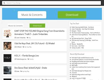 allmymp3.com screenshot