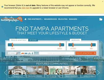 renttampabay.com screenshot