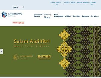 affinhwang.com screenshot