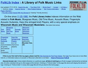 folklib.net screenshot