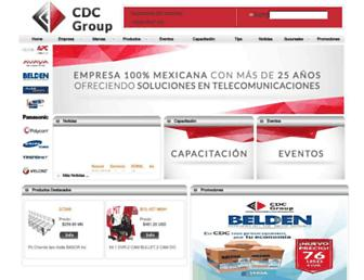 cdcmx.com screenshot