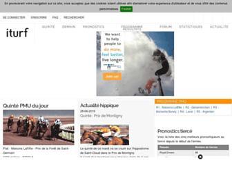 iturf.fr screenshot