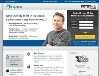 protectmyid.com screenshot