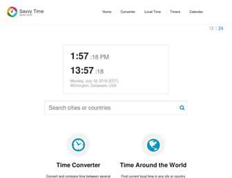 savvytime.com screenshot