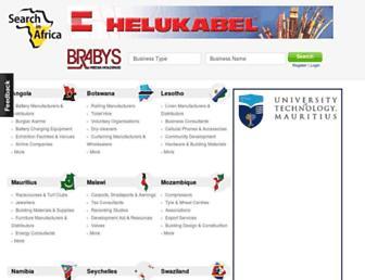 searchinafrica.com screenshot