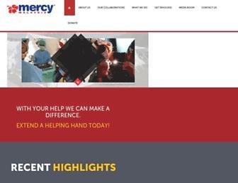 mercy.org.my screenshot