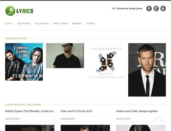 Thumbshot of Lyricsfeast.com