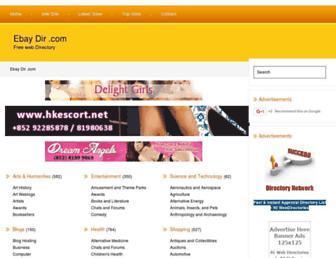 Thumbshot of Ebay-dir.com