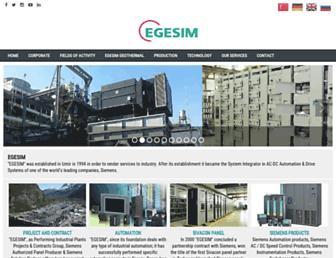 en.egesim.com screenshot