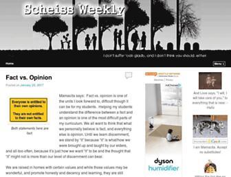 Main page screenshot of janegoodwin.net