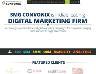 convonix.com screenshot