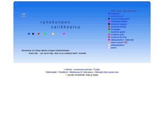 runokone.com screenshot