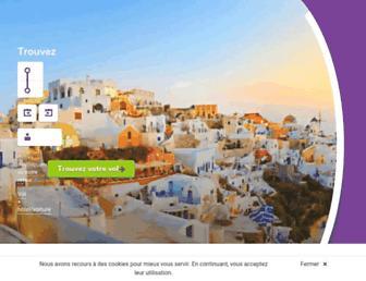 budgetair.fr screenshot