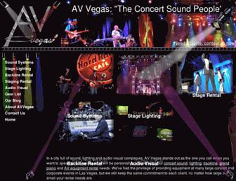 avvegas.com screenshot