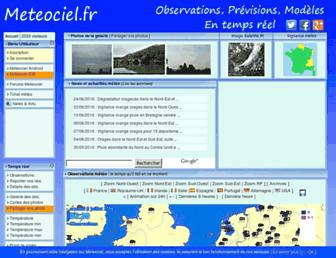 Thumbshot of Meteociel.com