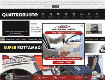 quattroruote.it screenshot